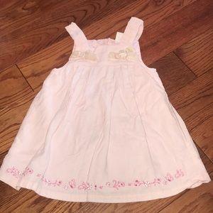 Macy's Pink Corduroy Dress